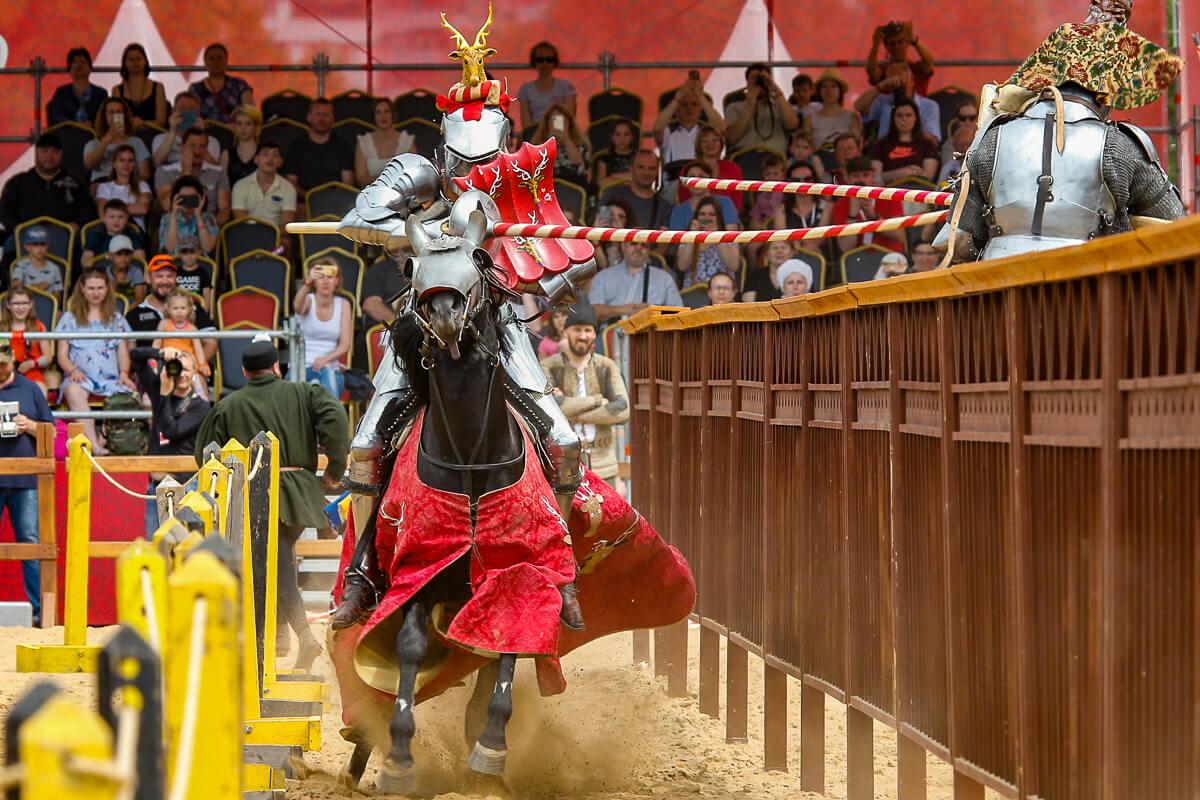 Пятый международный рыцарский Турнир святого Георгия в музее-заповеднике «Коломенское»: