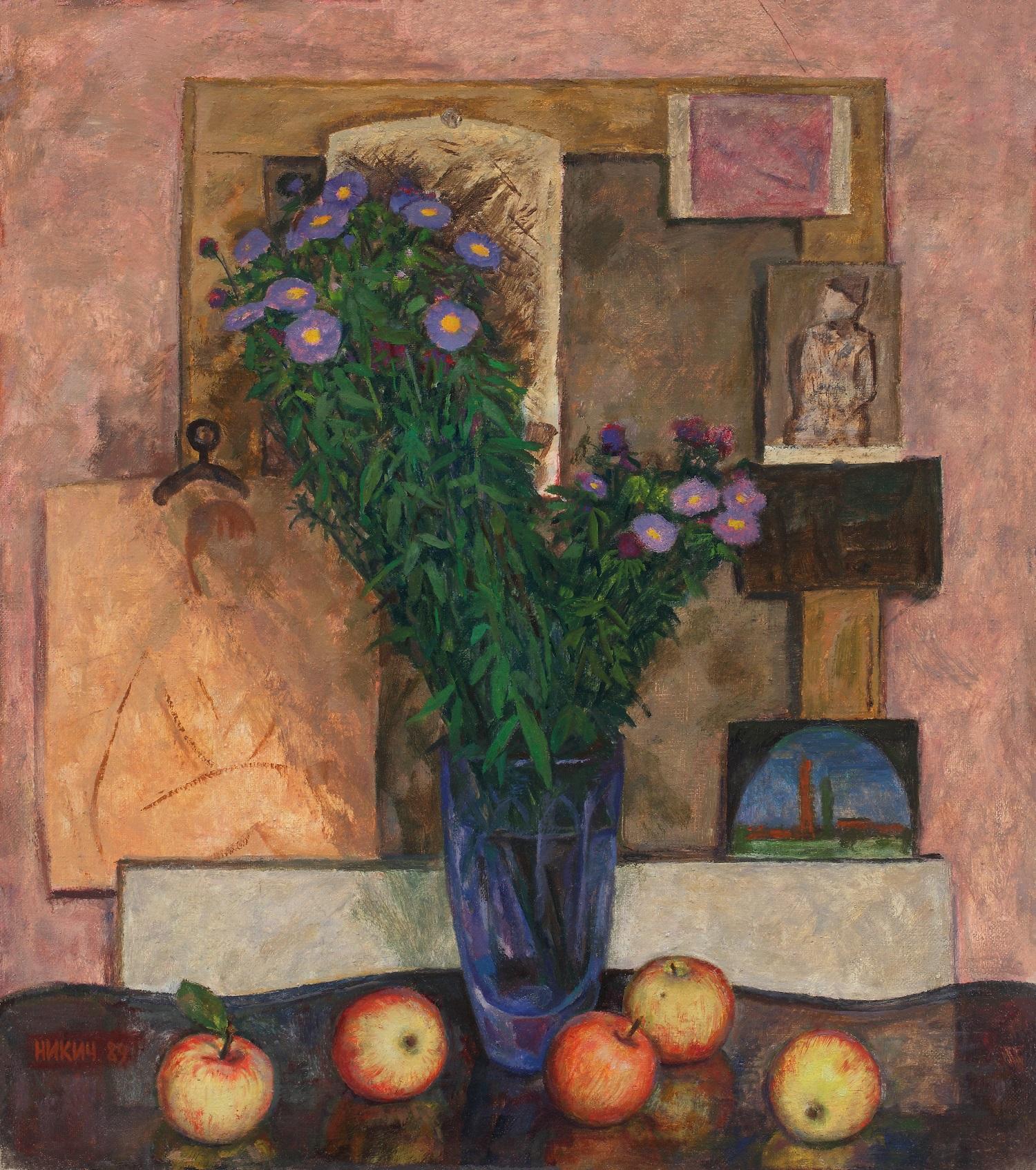 Выставка «Художник Никич. Мир внутри и жизнь снаружи» – события на сайте «Московские Сезоны»