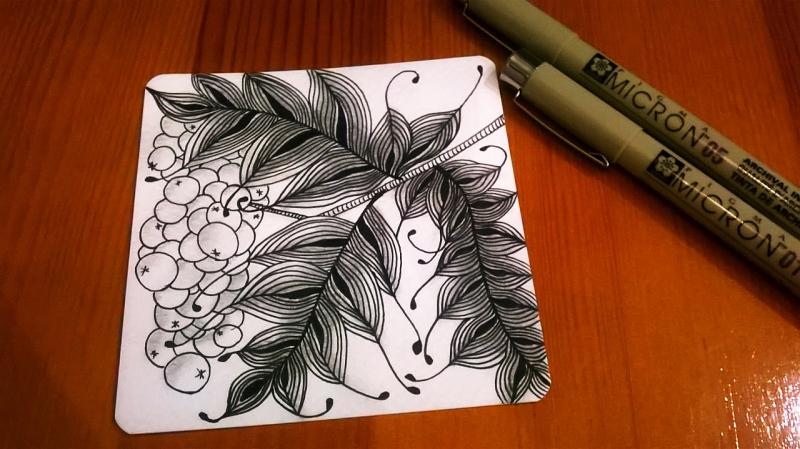 Мастер-класс «Рисунок в стиле зентангл» – события на сайте «Московские Сезоны»