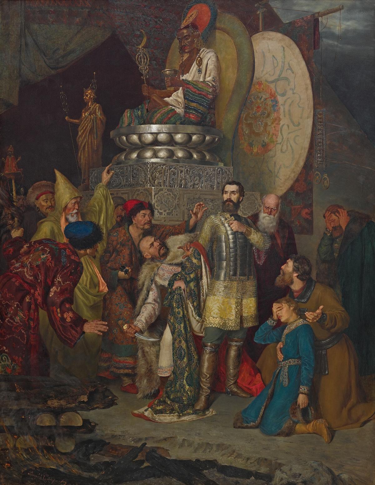 Выставка «Картины русской истории» – события на сайте «Московские Сезоны»