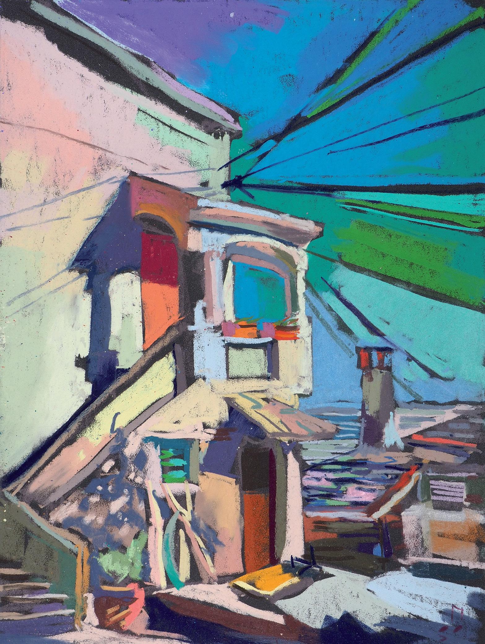 Выставка Ляли Бушковой «Сто пастелей» – события на сайте «Московские Сезоны»