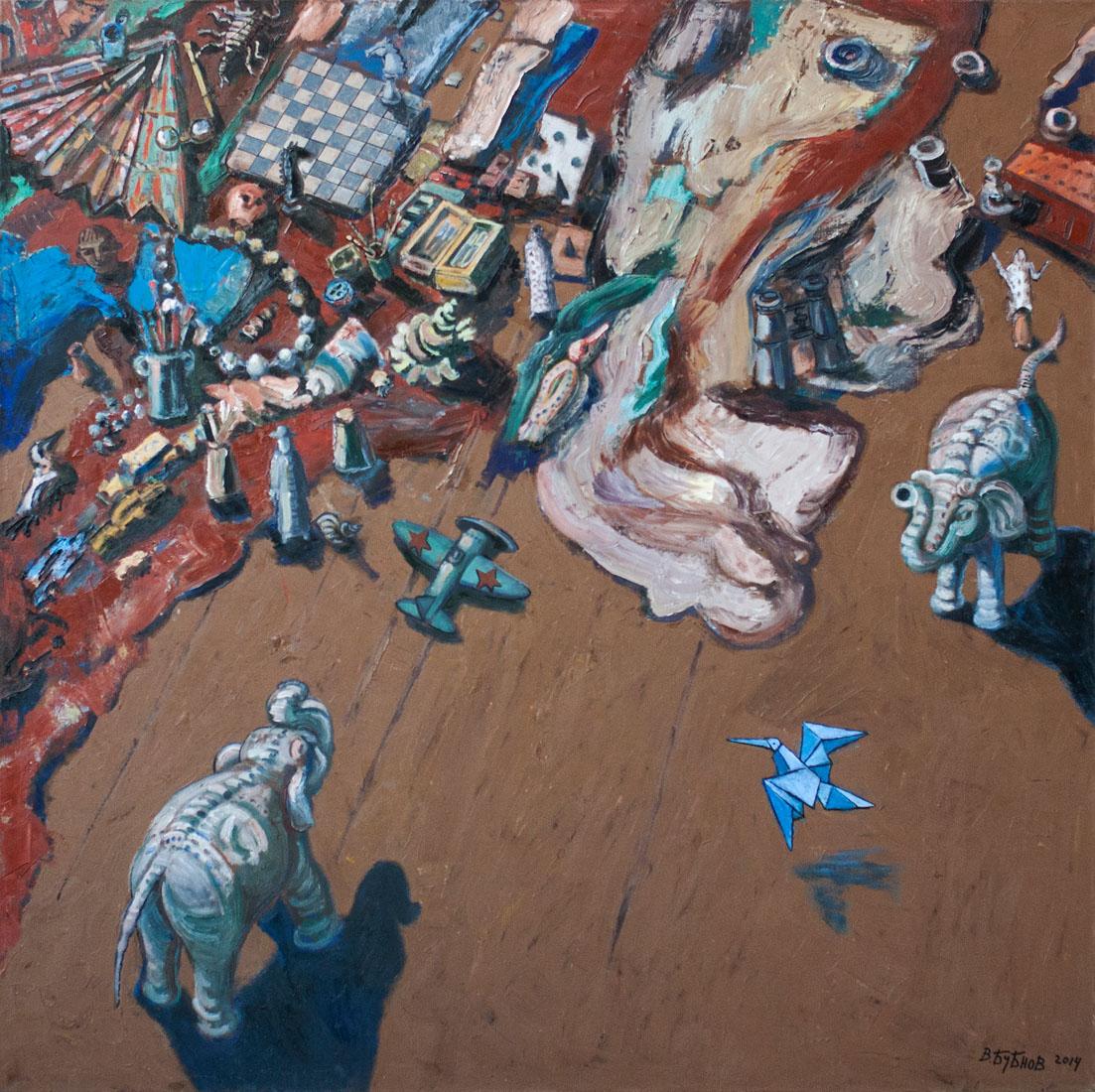 Выставка «Василий Бубнов. Живопись, графика» – события на сайте «Московские Сезоны»