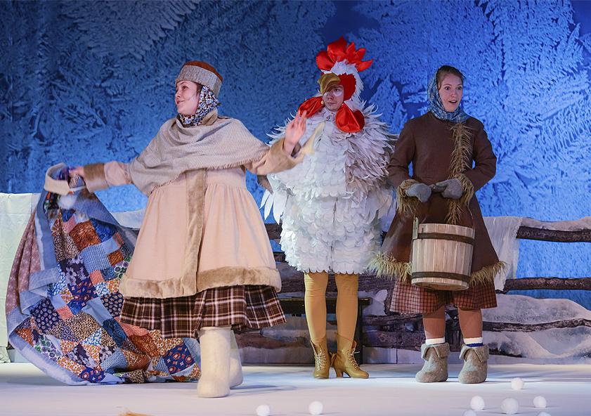 Спектакль «Морозко» – события на сайте «Московские Сезоны»