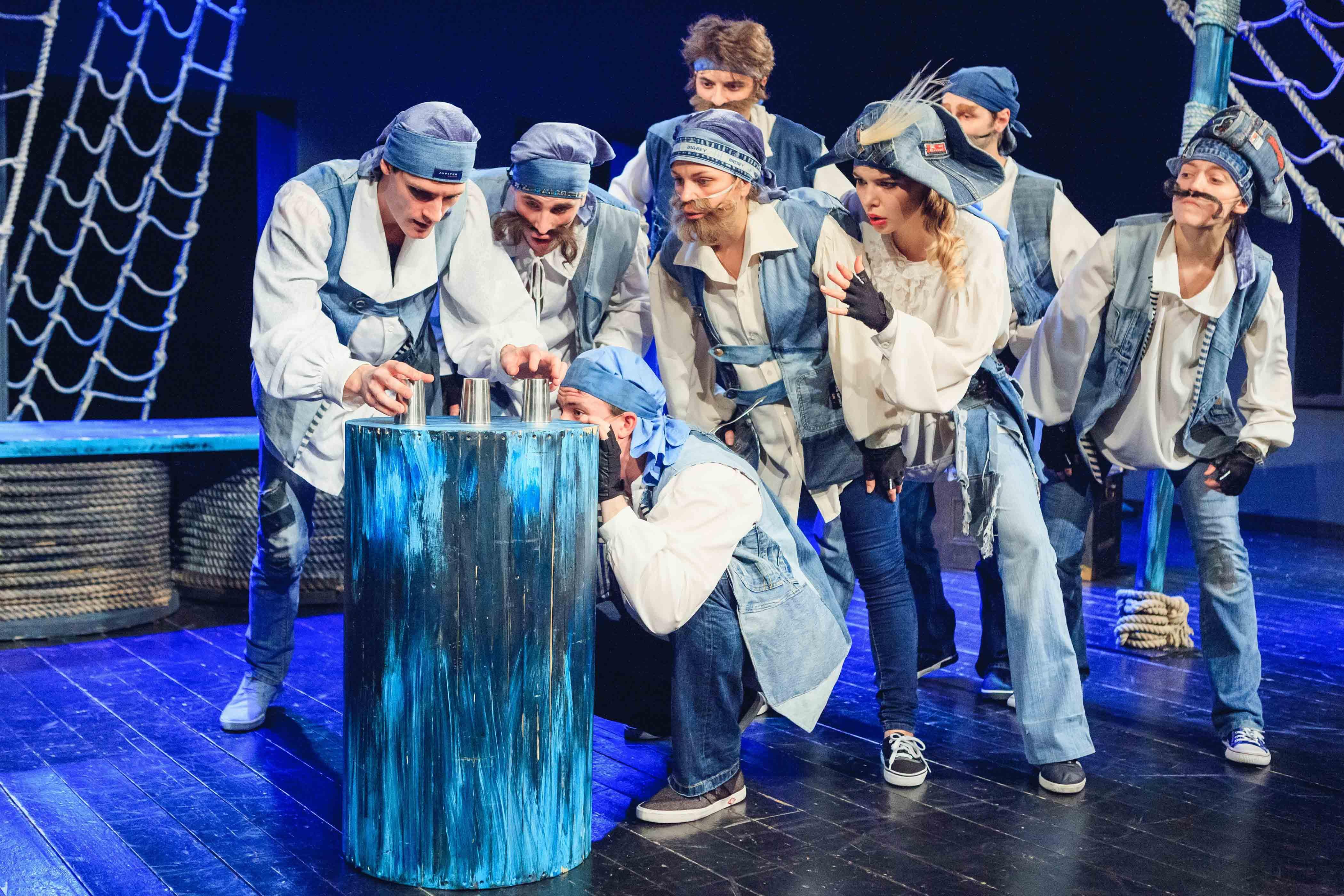 Спектакль «Каникулы с пиратами» – события на сайте «Московские Сезоны»