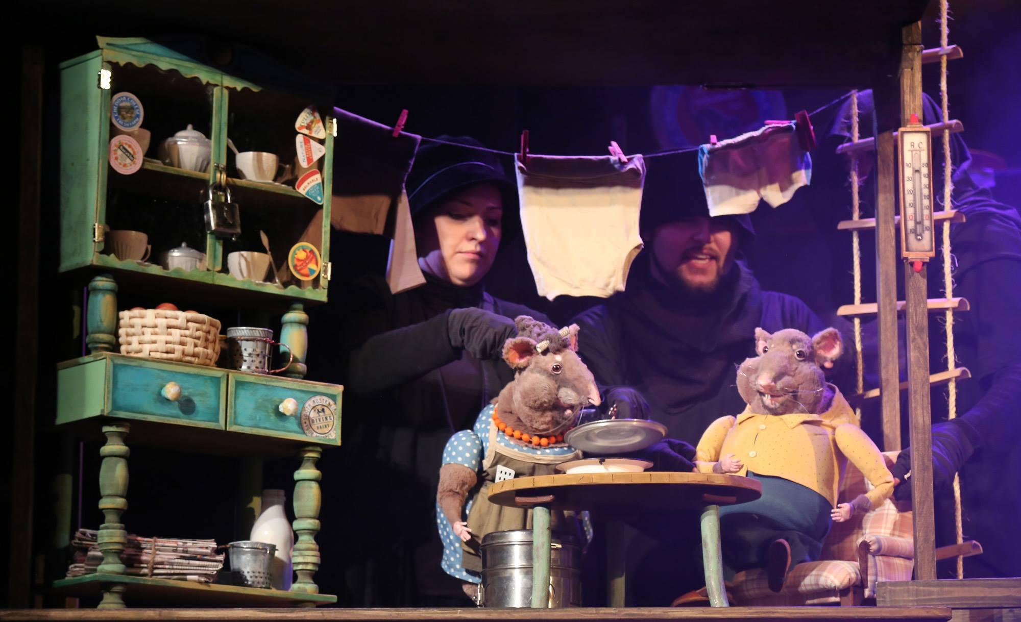 Спектакль «Все мыши любят сыр» – события на сайте «Московские Сезоны»