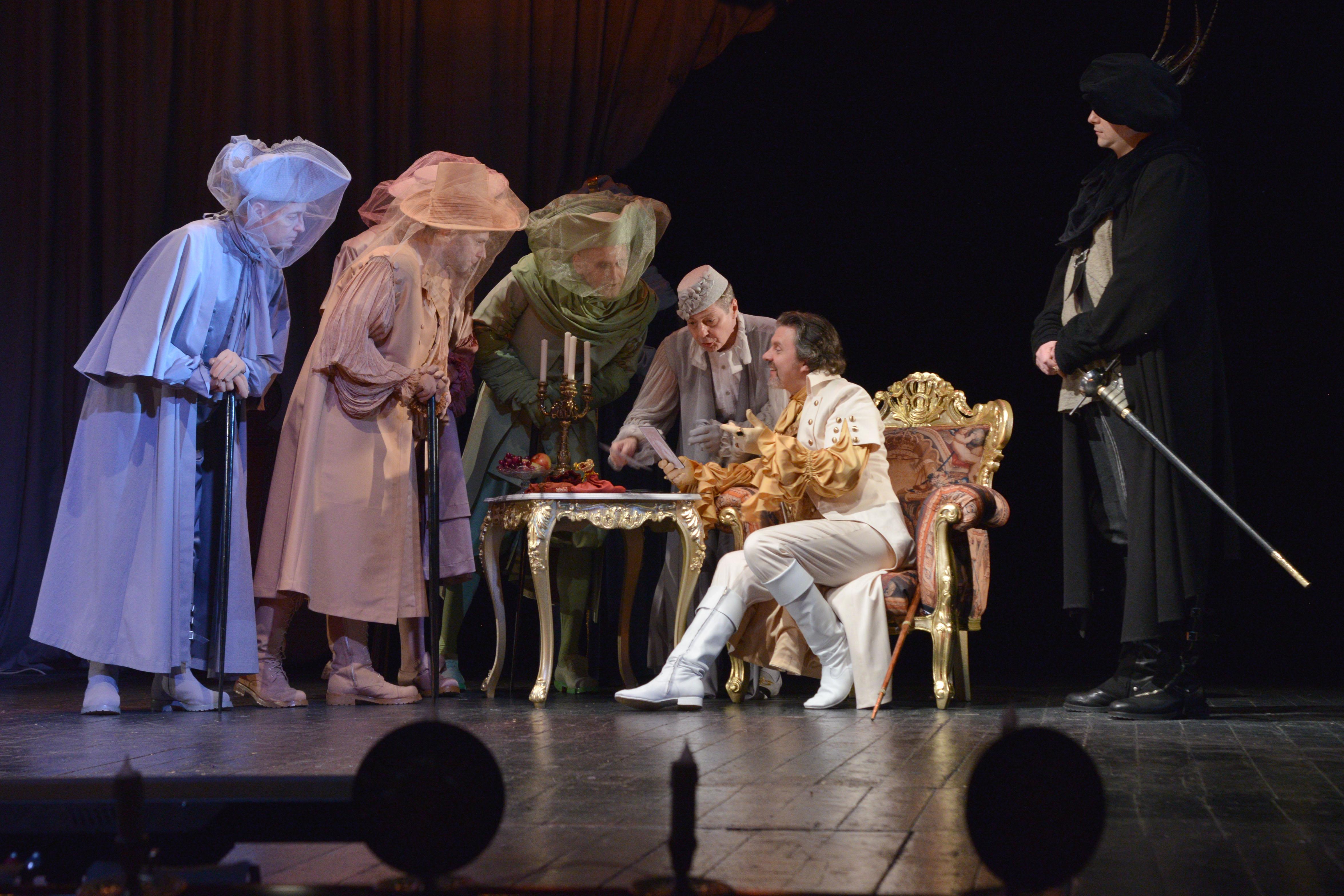 Спектакль «Мольер» – события на сайте «Московские Сезоны»