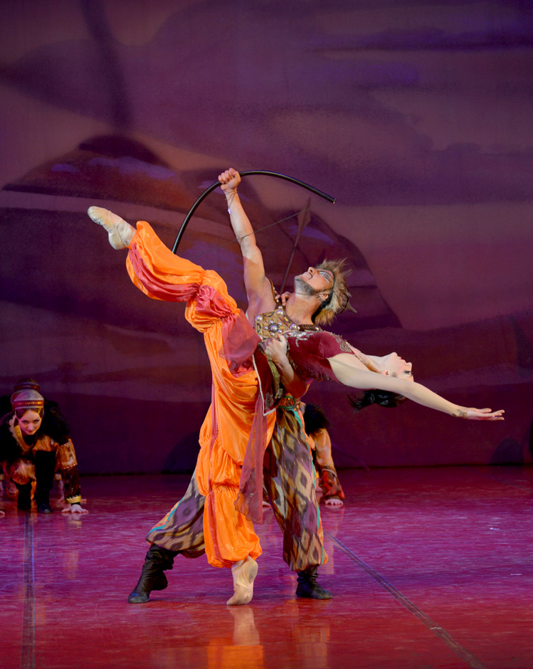 Одноактный балет «Половецкие пляски» – события на сайте «Московские Сезоны»