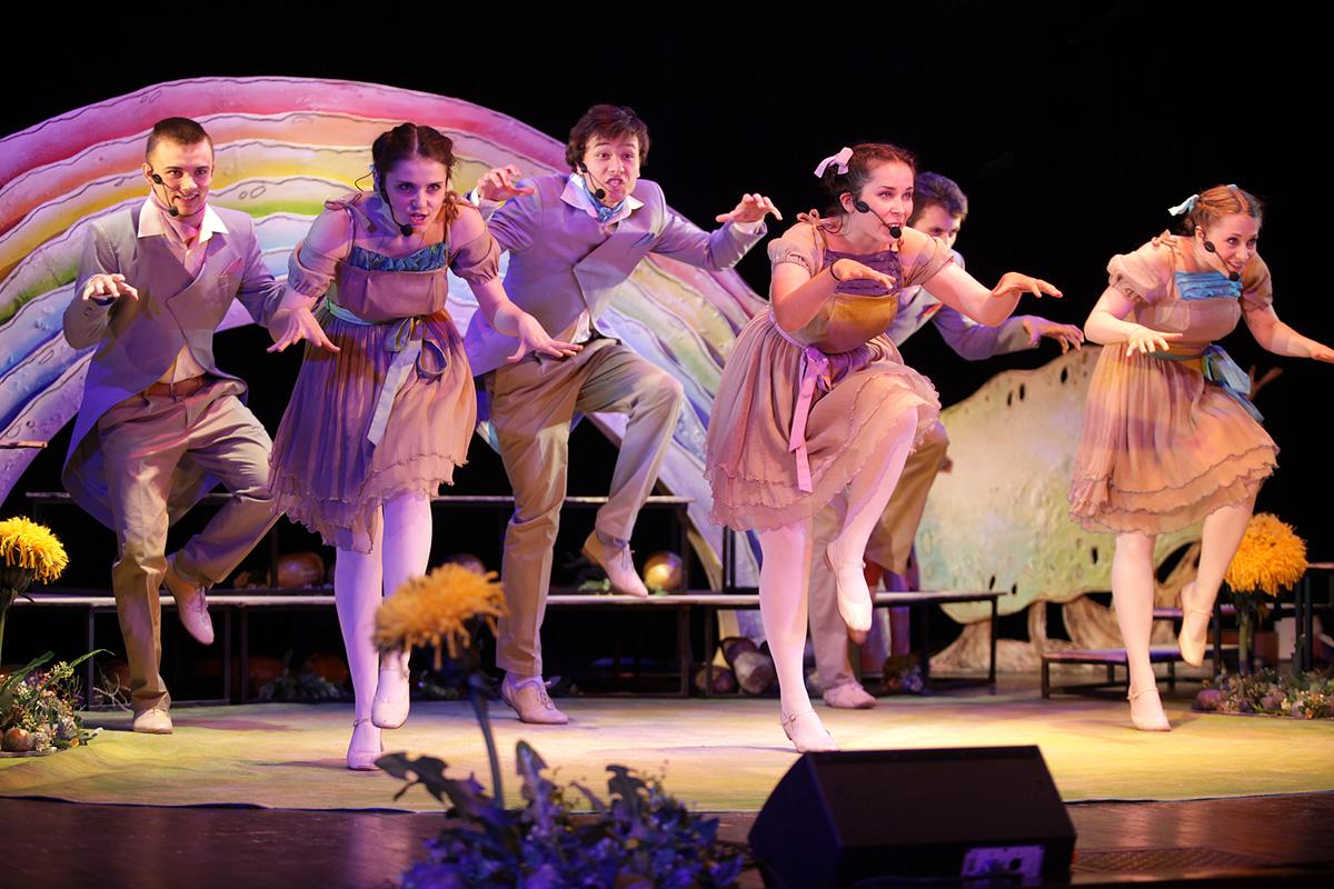 Спектакль «Про трех отважных поросят» – события на сайте «Московские Сезоны»