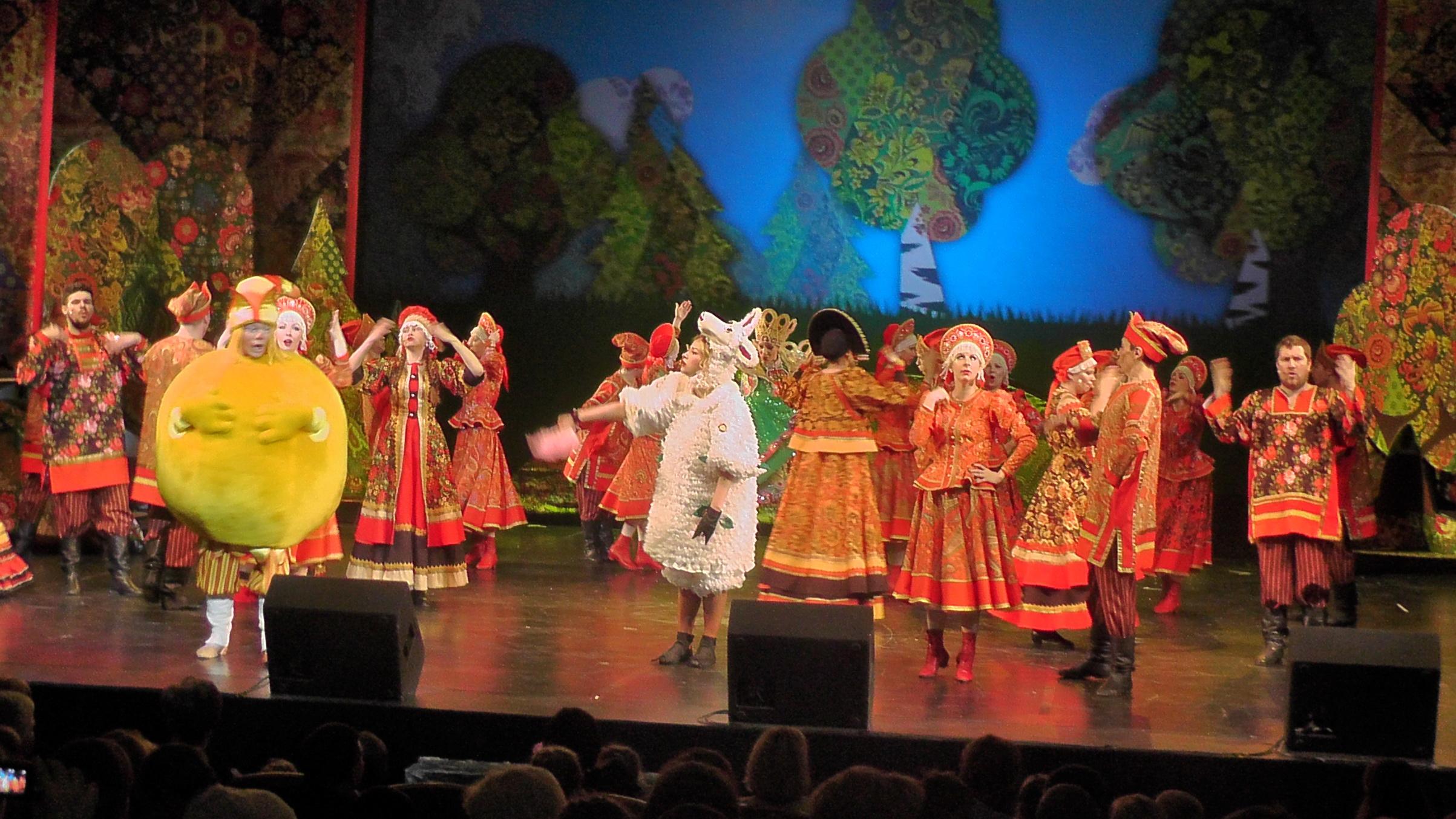 Спектакль «Новые приключения Колобка» – события на сайте «Московские Сезоны»