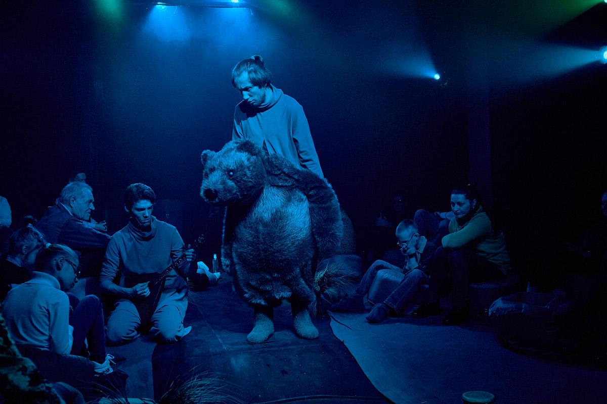 Спектакль «Сказка с закрытыми глазами «Ёжик в тумане» – события на сайте «Московские Сезоны»