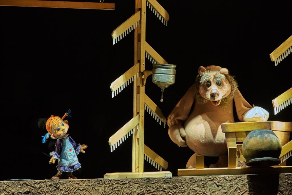 Спектакль «Маша и Медведь» – события на сайте «Московские Сезоны»
