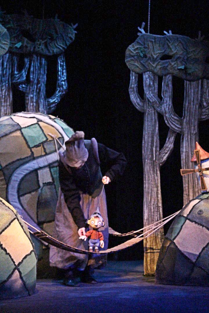 Спектакль «Мальчик с пальчик» – события на сайте «Московские Сезоны»