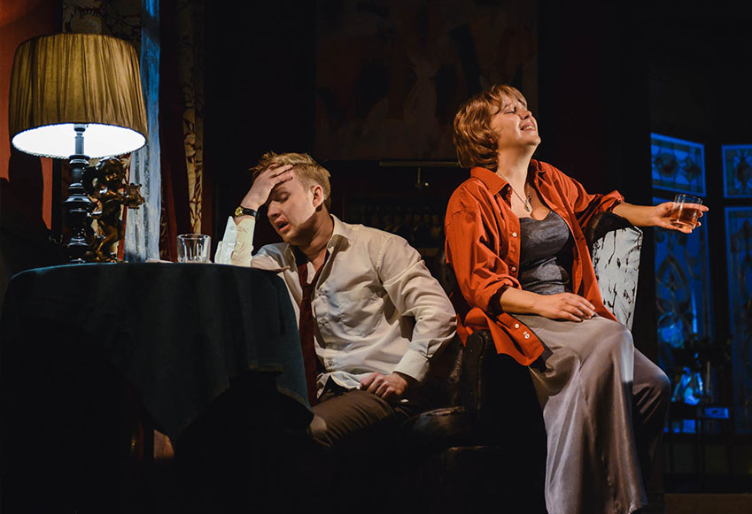 Спектакль «Кто боится Вирджинии Вульф?» – события на сайте «Московские Сезоны»