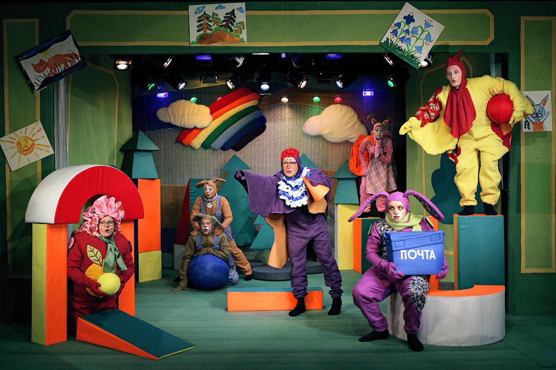 Музыкальная сказка «Зайка-почтальон» – события на сайте «Московские Сезоны»