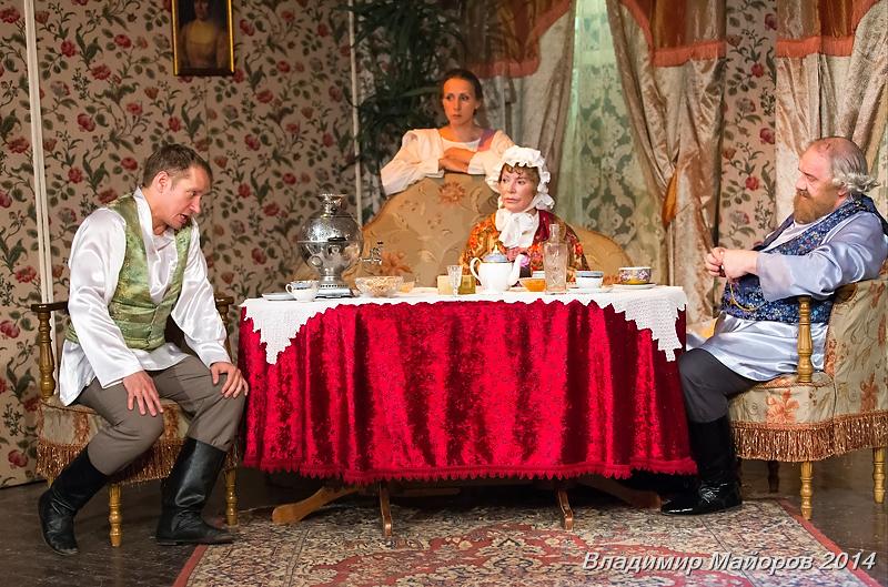 Спектакль «В чужом пиру похмелье» – события на сайте «Московские Сезоны»