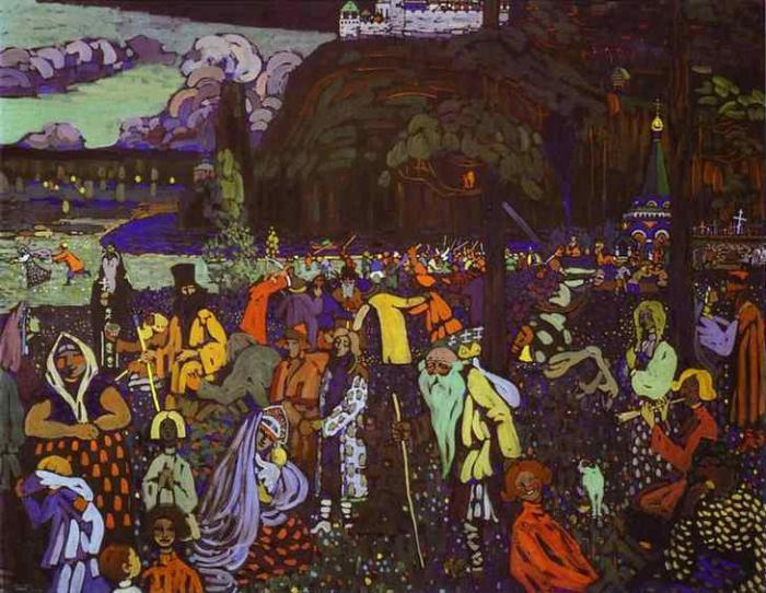 Лекция «Кандинский. Родоначальник абстракционизма в мировой живописи» – события на сайте «Московские Сезоны»