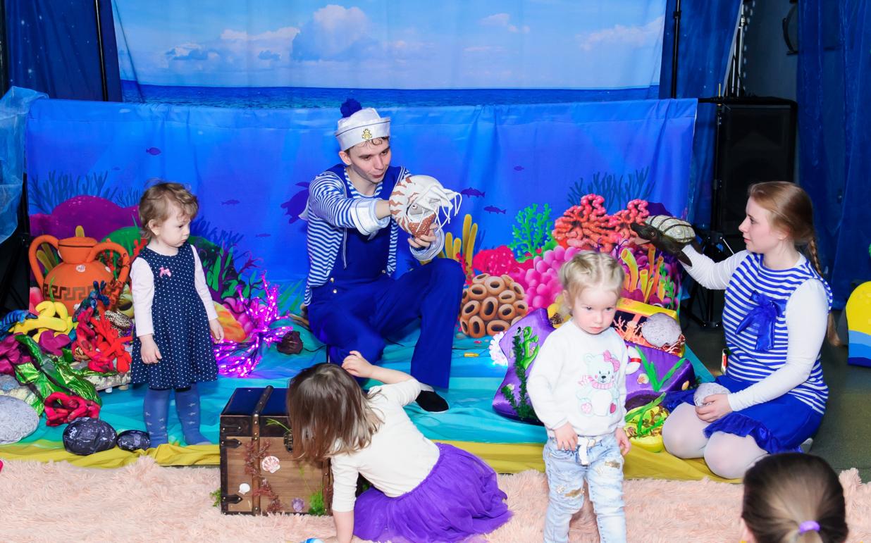 Интерактивный спектакль «Тайны океана» – события на сайте «Московские Сезоны»