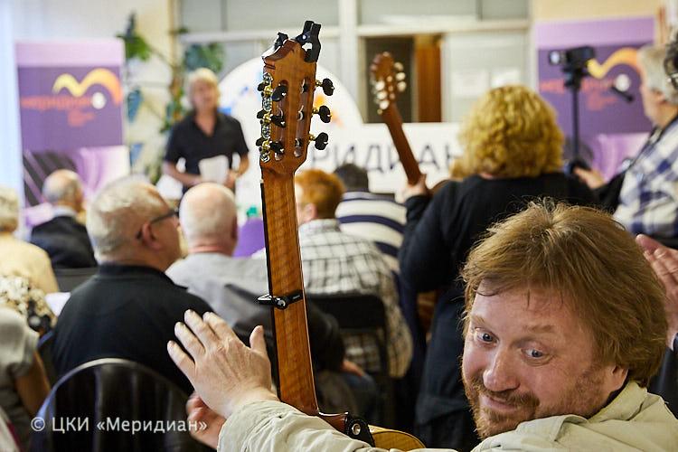 Вечер открытого микрофона «Гитара по кругу» – события на сайте «Московские Сезоны»