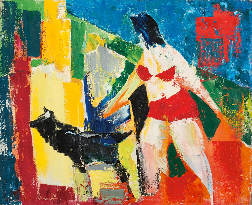 Выставка Валерия Волкова «Пантомима цвета» – события на сайте «Московские Сезоны»