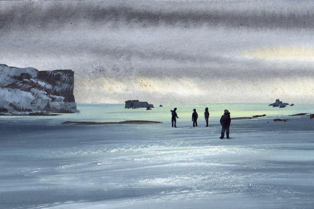Выставка Found in Antarctica – события на сайте «Московские Сезоны»
