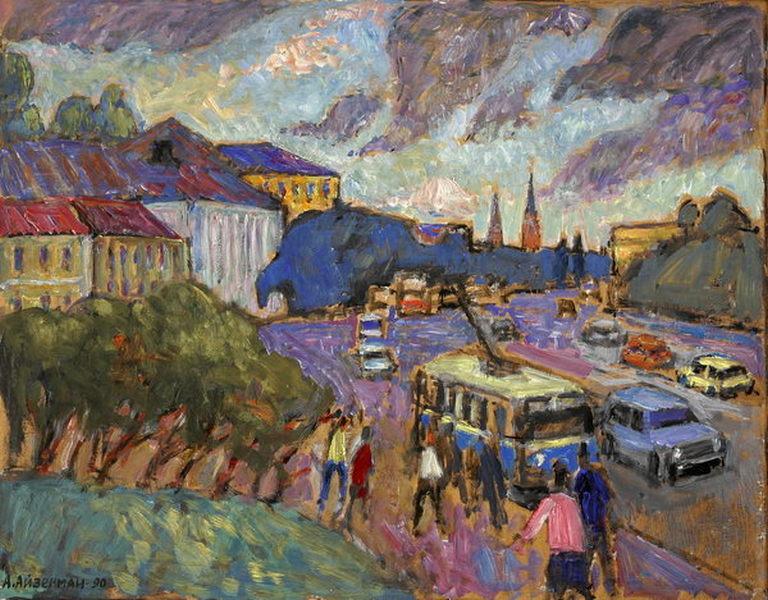 Выставка «Алексей Айзенман. К 100-летию со дня рождения художника» – события на сайте «Московские Сезоны»