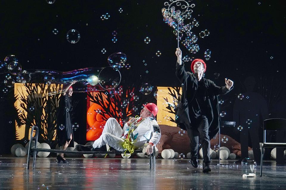 Спектакль «Человек из рыбы» – события на сайте «Московские Сезоны»