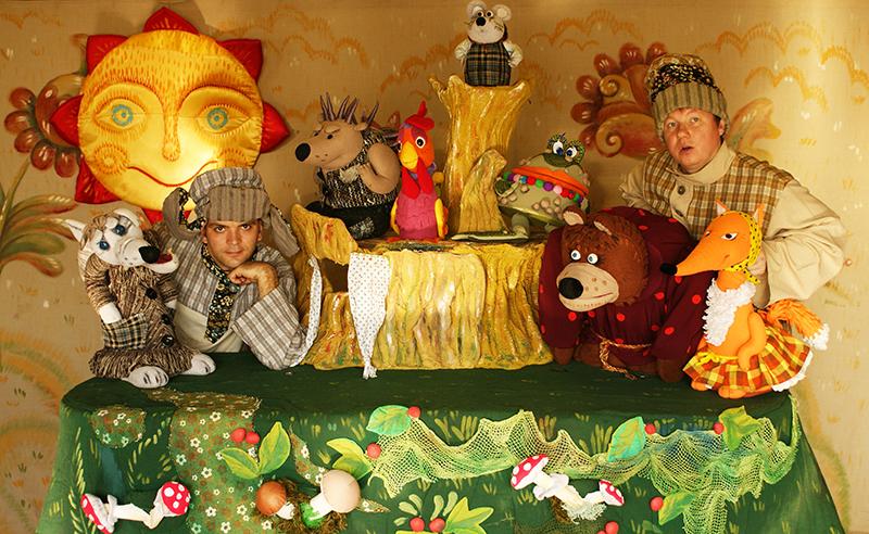 Спектакль «Теремок. Студия кукол «Ёжики» – события на сайте «Московские Сезоны»
