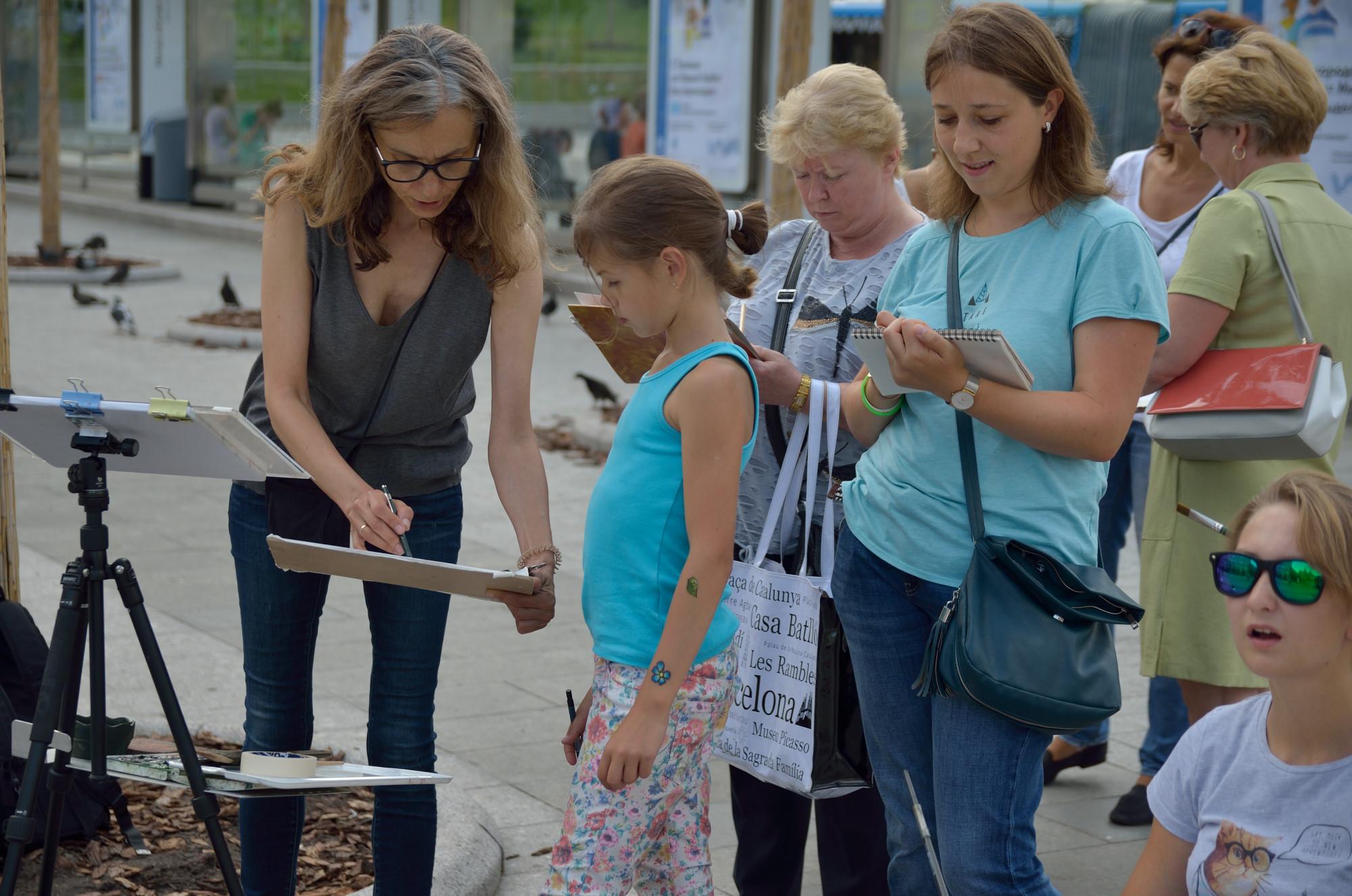 Мастер-класс «Рисуем за один день» – события на сайте «Московские Сезоны»