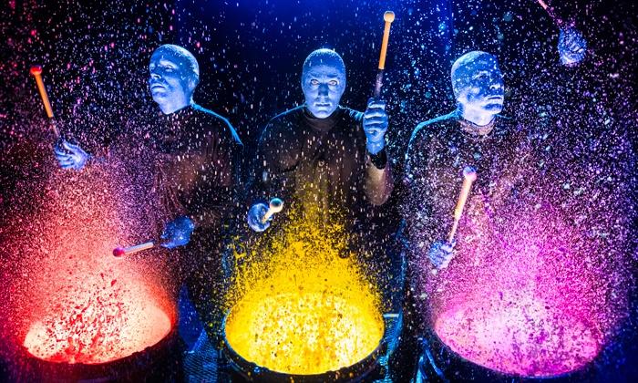 Шоу Blue Man Group – события на сайте «Московские Сезоны»