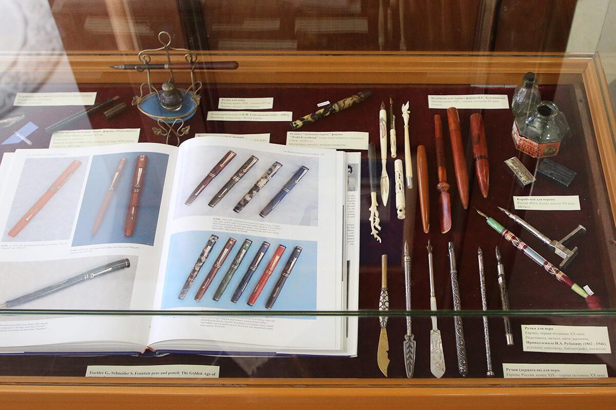 Выставка «От пера до ручки» – события на сайте «Московские Сезоны»