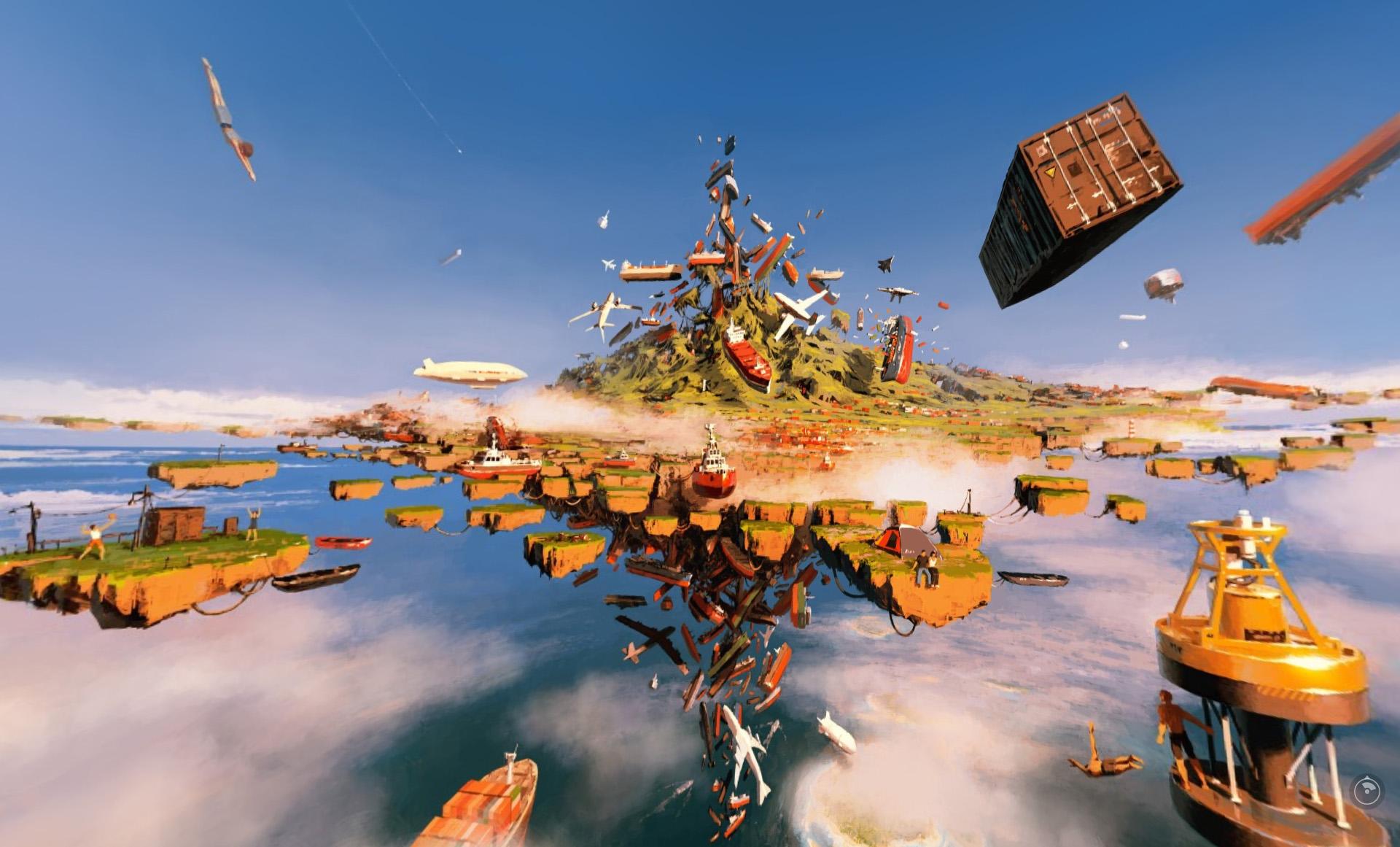 Выставка «Виртуальный реализм 1.0» – события на сайте «Московские Сезоны»