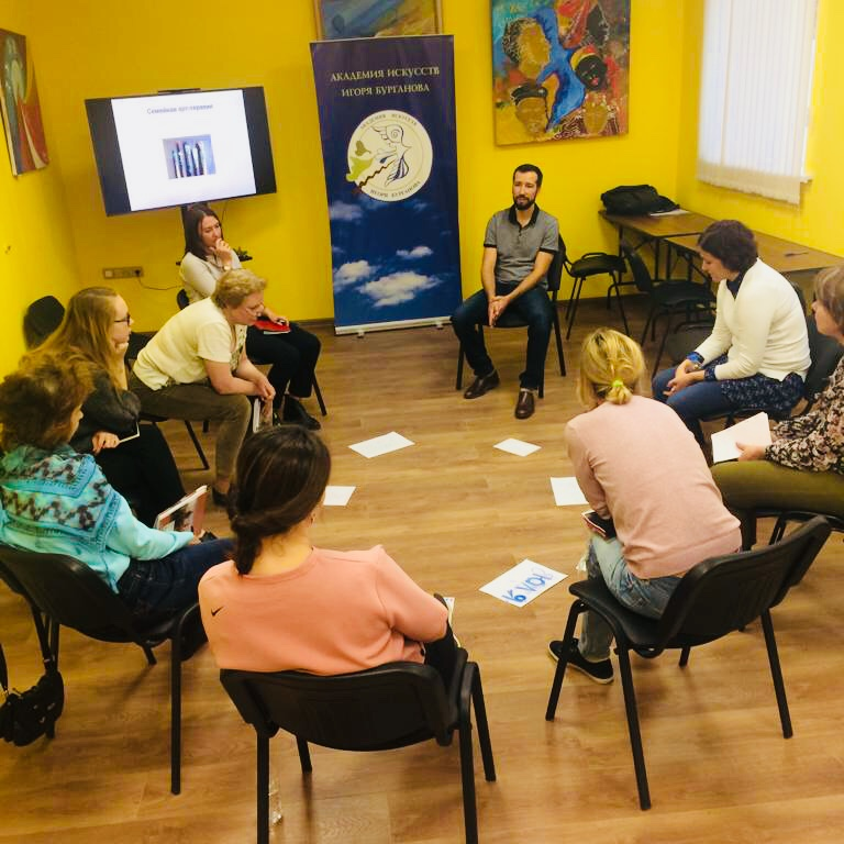 Ночь искусств «Арт-терапия объединяет» – события на сайте «Московские Сезоны»