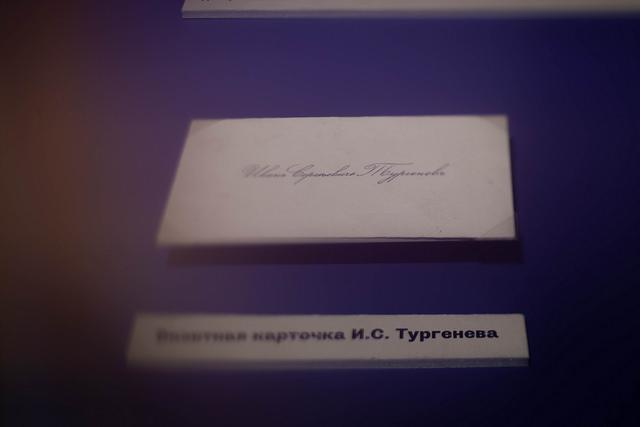 Кураторская экскурсия по выставке «Арабески. Страницы жизни Ивана Тургенева» – события на сайте «Московские Сезоны»