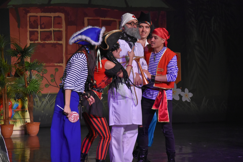 Спектакль «Остров Бармалея» – события на сайте «Московские Сезоны»