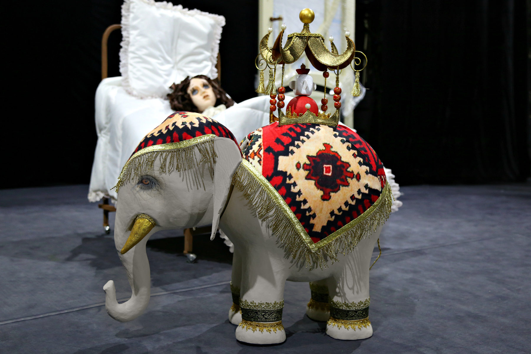 Спектакль «Слон» – события на сайте «Московские Сезоны»