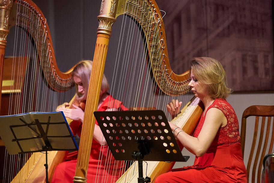 Концерт «Две арфы и орган» – события на сайте «Московские Сезоны»