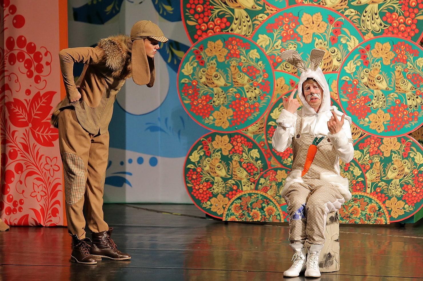 Детский спектакль «Зайка-хваста» – события на сайте «Московские Сезоны»