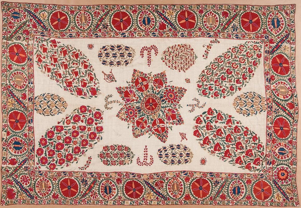 Лекция «Сады земные и сады небесные. Вышивки Узбекистана» – события на сайте «Московские Сезоны»