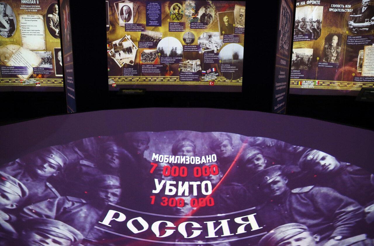 Выставка «Россия – моя история. 1914–2017» – события на сайте «Московские Сезоны»