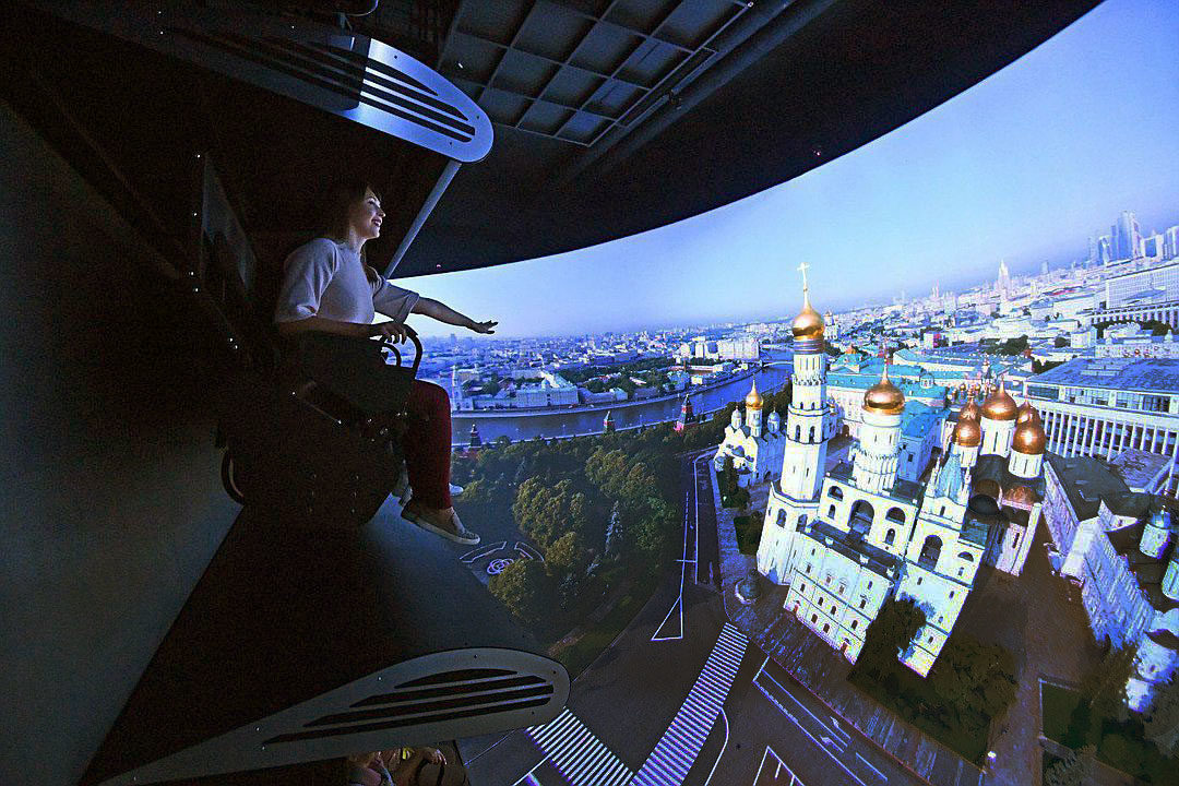 你想去哪飞翔?莫斯科抑或是整个俄罗斯上空? | 活动资讯 | Moscow Seasons