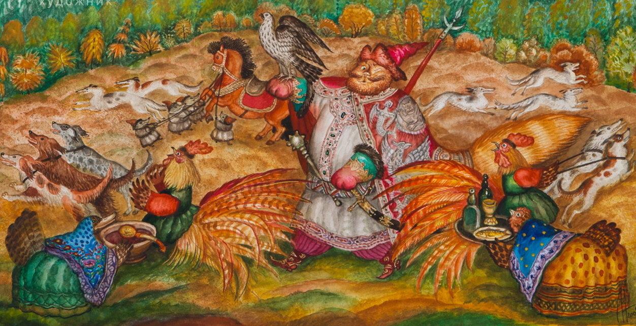 Персональная выставка Леонида Непомнящего «Иллюстратор» – события на сайте «Московские Сезоны»
