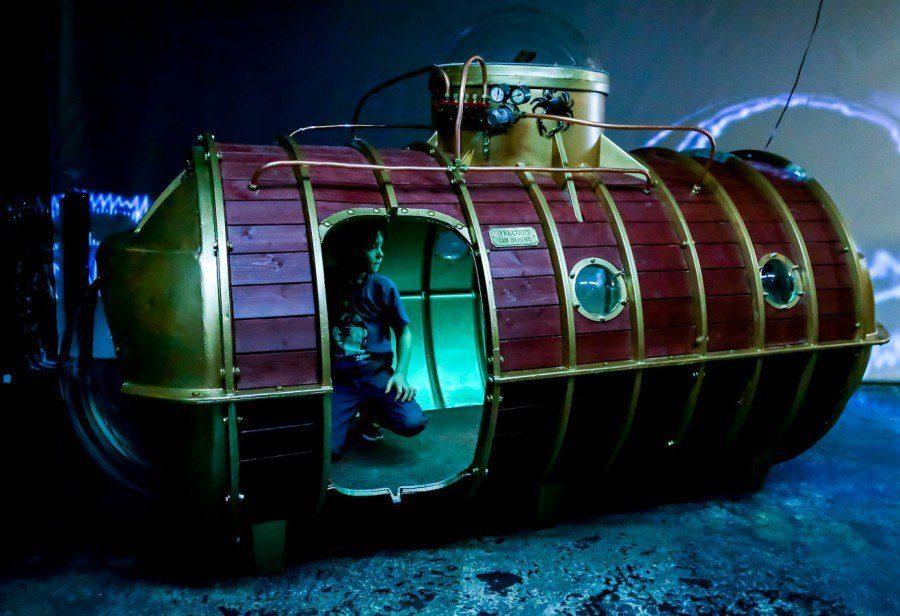 Выставка «Невероятные миры Жюля Верна» в ARTPLAY на Курской – события на сайте «Московские Сезоны»