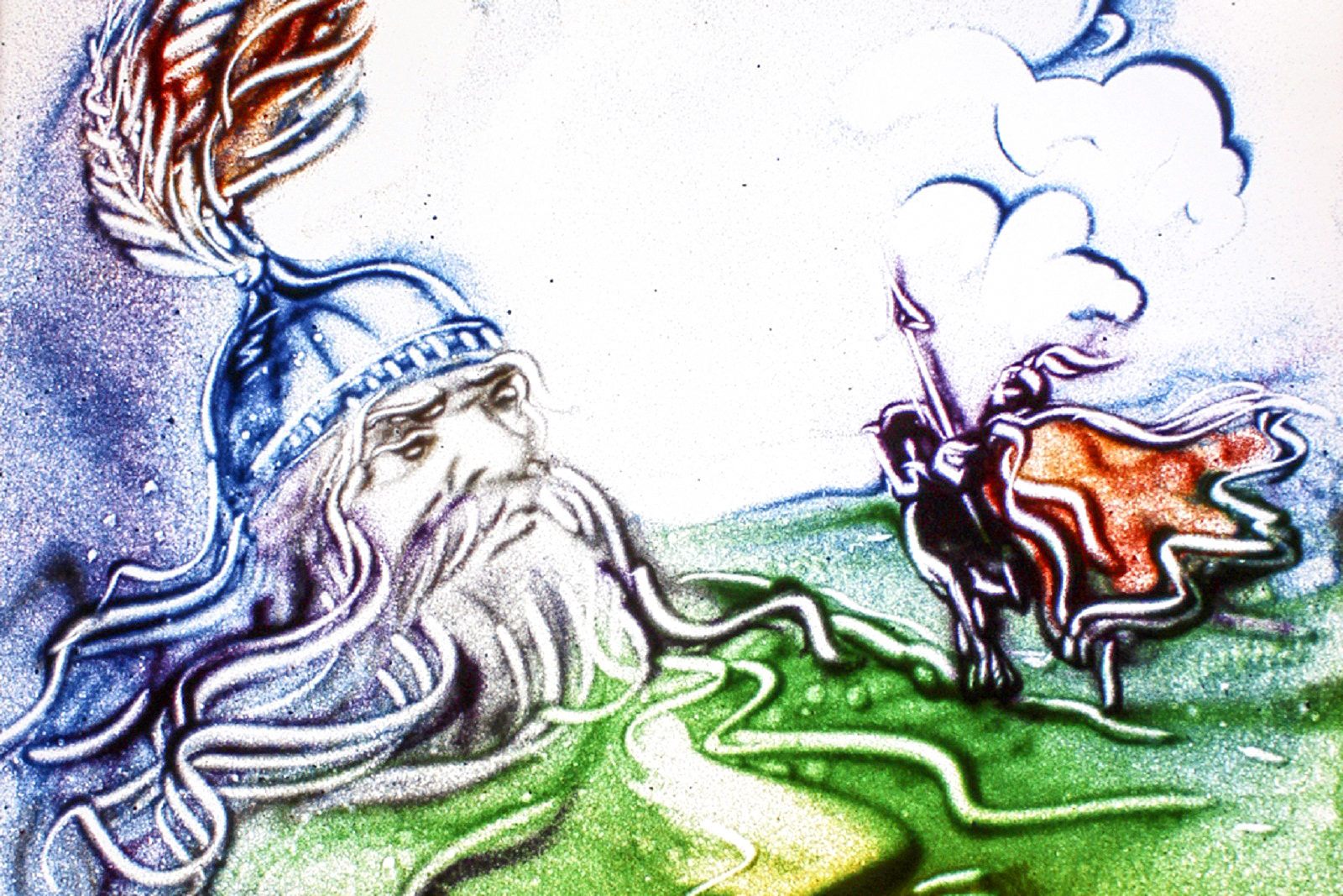 Поэма «Руслан и Людмила» и песочная анимация в Доме музыки – события на сайте «Московские Сезоны»