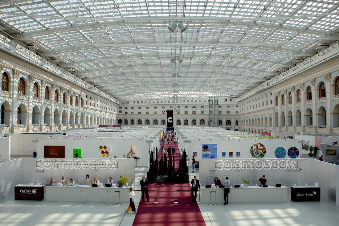 Арт-ярмарка Cosmoscow – события на сайте «Московские Сезоны»