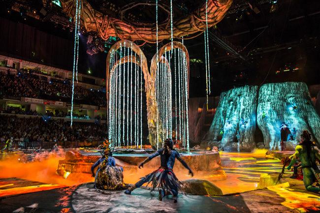 Шоу «Toruk – первый полёт» – события на сайте «Московские Сезоны»