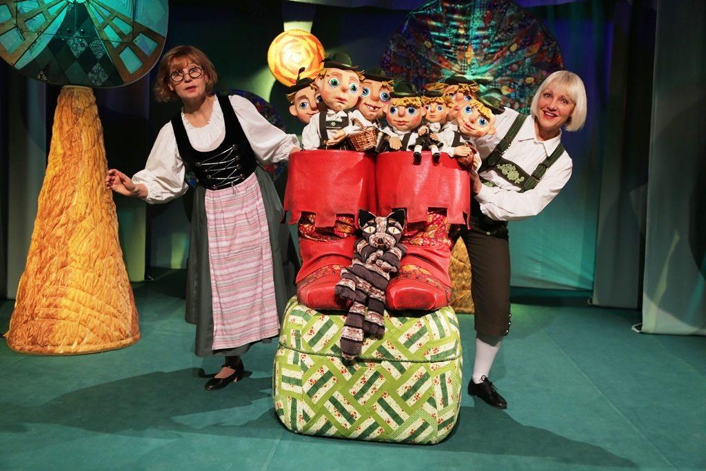 Спектакль Московского театра кукол на Бауманской «Мальчик-с-пальчик» – события на сайте «Московские Сезоны»