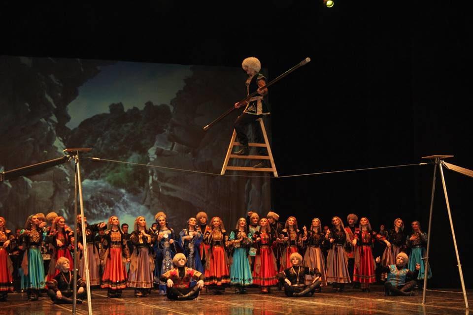 Выступление ансамбля «Лезгинка» на концерте Гузель Уразовой и Ильдара Хакимова – события на сайте «Московские Сезоны»