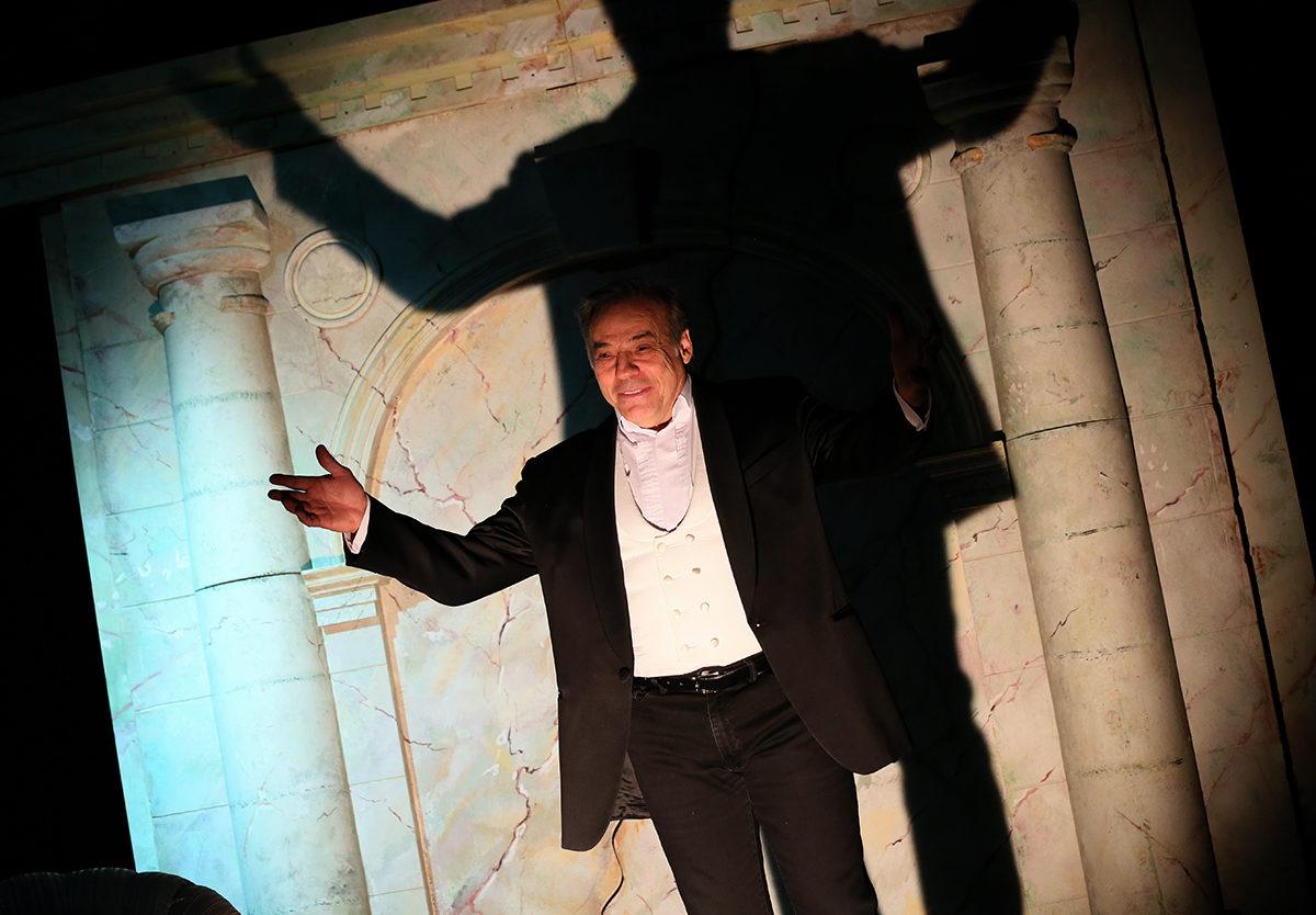 Проект «Лента поэзии» в театре «У Никитских ворот» – события на сайте «Московские Сезоны»