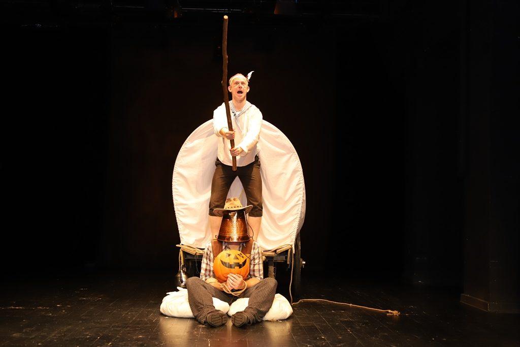 Спектакль «Вождь краснокожих» на Малой сцене театра Джигарханяна – события на сайте «Московские Сезоны»