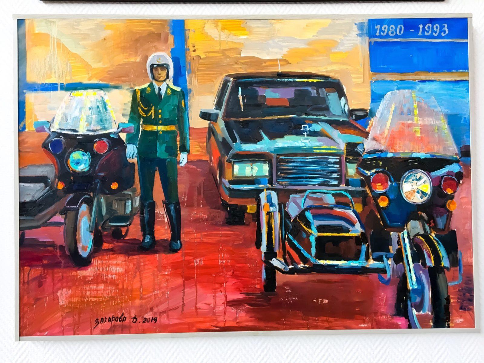 Выставка творческого объединения «Авто-мото-арт» в Музее «Московский транспорт» – события на сайте «Московские Сезоны»